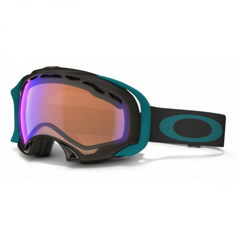 Oakley Splice - Dark Gunmetal / Blue Iridium - 59-518 Skibril
