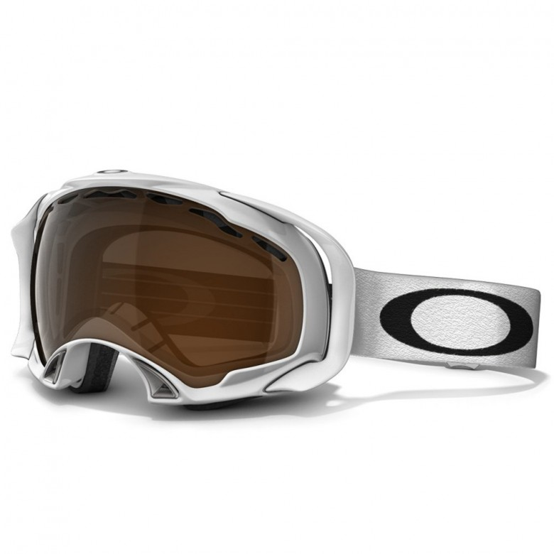 Oakley Splice - Polished White / Black Iridium - 57-247 Skibril
