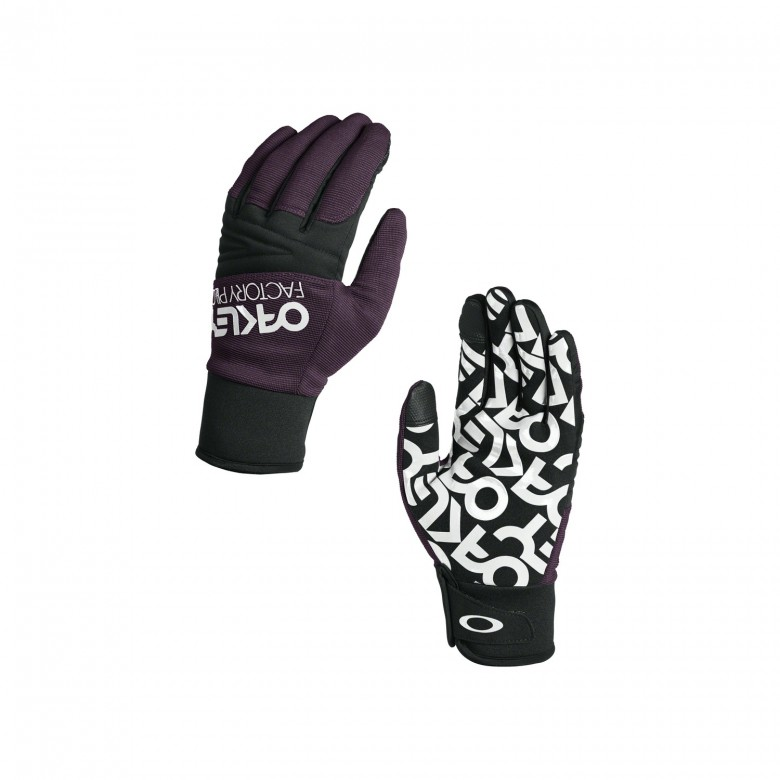 Oakley Factory Park Glove - Deep Plum - 94281-84H-L Handschoenen
