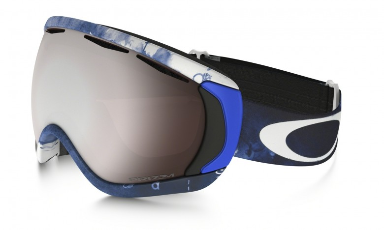 Oakley Canopy JP Auclair Signature Series - White / Prizm Snow Black Iridium - OO7047-08 Skibril