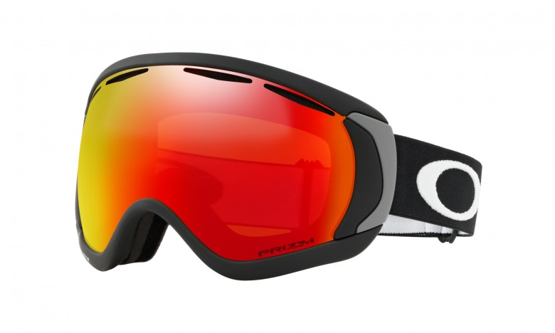 Oakley Canopy - Matte Black / Prizm Snow Torch Iridium - OO7047-43 Skibril