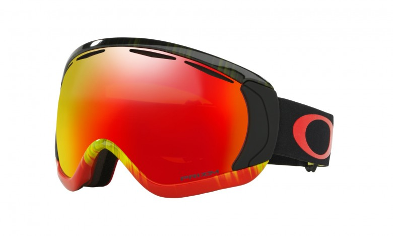 Oakley Canopy - Wet/Dry Fire Green / Prizm Snow Torch Iridium - OO7047-62 Skibril
