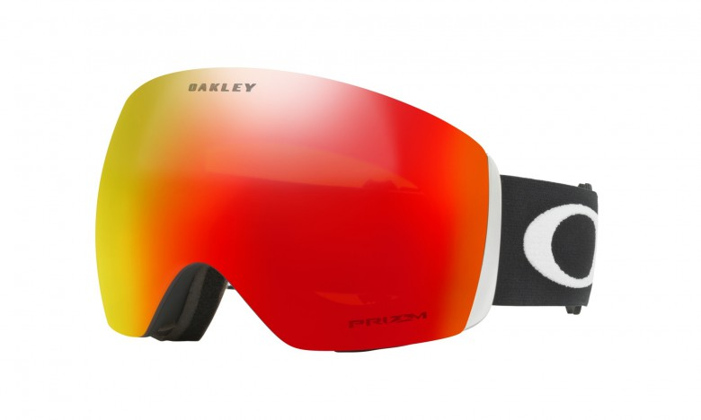 Oakley Fligth Deck Matte Black / Prizm Snow Torch Iridium - OO7050-33 Skibril