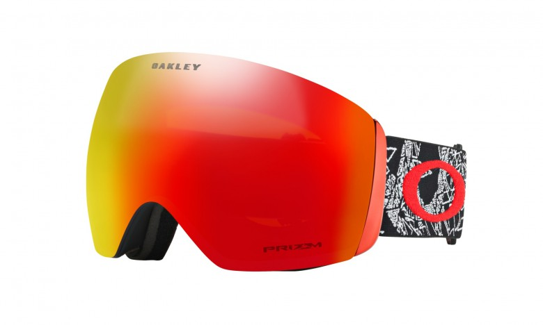 Oakley Flight Deck Seth Morrison Signature Series / Prizm Snow Torch Iridium OO7050-57 Skibril