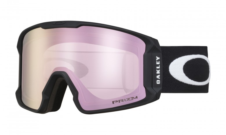 Oakley Line Miner Matte Black + Prizm Snow Hi Pink Iridium OO7070-06