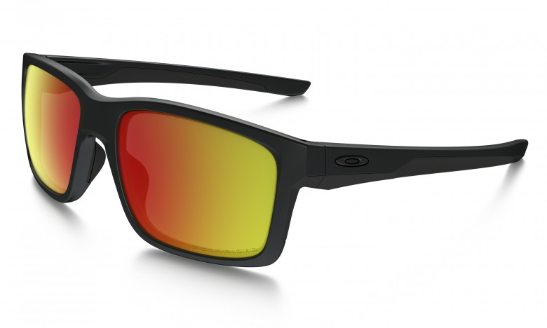 Oakley Mainlink - Matte Black / Ruby Iridium Polarized OO9264-07