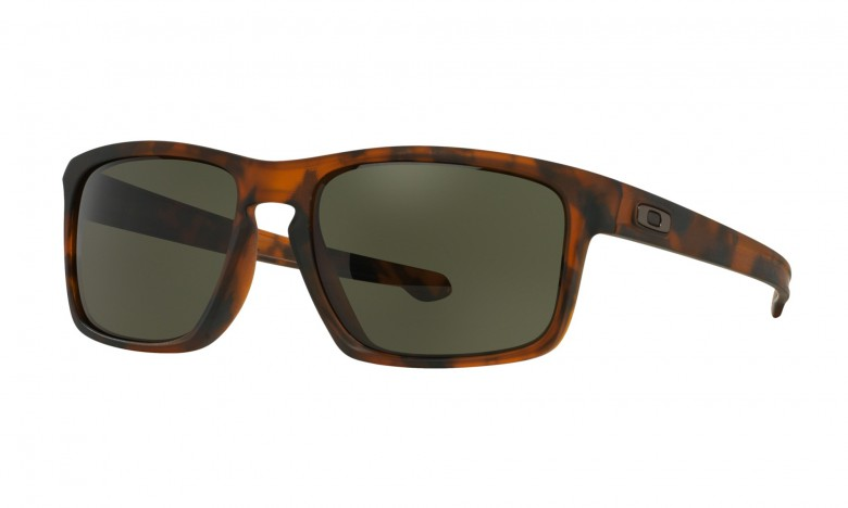 Oakley Sliver (Asian Fit) Matte Brown Tortoise / Dark Grey - OO9269-02 Zonnebril