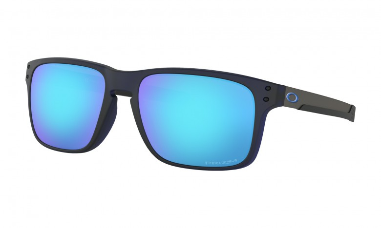 Oakley Holbrook Mix Matte Translucent Blue / Prizm Sapphire Iridium - OO9384-0357
