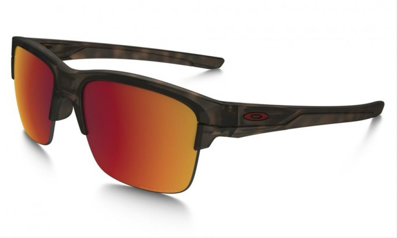 Oakley Thinlink (Asian Fit) Matte Brown Tortoise / Torch Iridium Polarized - OO9317-06 Zonnebril