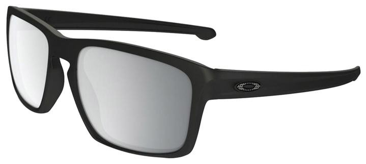 Oakley Sliver (Asian Fit) Machinist Collection - Matte Black / Chrome Iridium - OO9269-09 Zonnebril