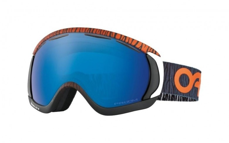 Oakley Canopy - Factory Pilot Bengal Orange / Prizm Snow Sapphire Iridium - OO7047-15 Skibril
