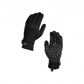 Oakley Diamondback Fleece Glove - Jet Black - 94283-01K-L