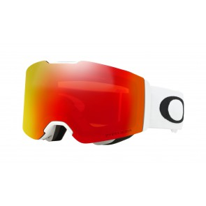 Oakley Fall Line Matte White / Prizm Snow Torch Iridium - OO7085-08 Skibril