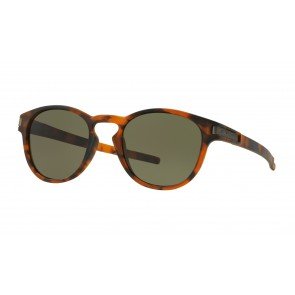 Oakley Latch (Asian Fit) Matte Brown Tortoise / Dark Grey - OO9349-02 Zonnebril