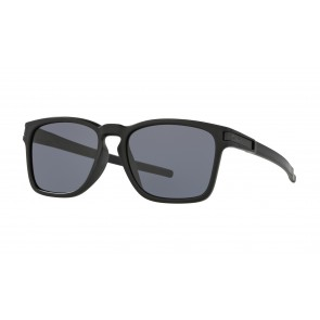 Oakley Latch Sq (Asian Fit) Matte Black / Grey - OO9358-01 Zonnebril
