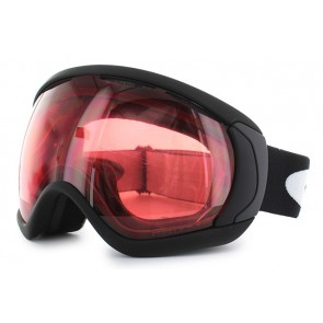 Oakley Canopy (Asian Fit) Matte Black / Prizm Snow Rose Iridium - OO7081-01 Skibril